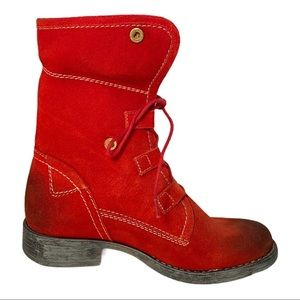 Ronsports Women's Joyce Boot Red size 6